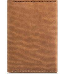 ezra arthur leather passport wallet in whiskey at nordstrom