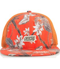 gorra naranja official hunter real tropical