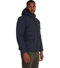 2 in 1 ripstop puffer jacket