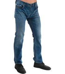 diesel mens zatiny bootcut jeans size 32l in blue