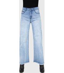 jeans ellus celeste - calce holgado