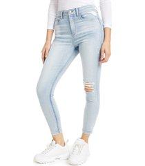 rewash juniors' ripped high-rise skinny jeans