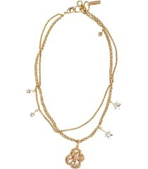 jennifer behr zodiac capricorn necklace - gold