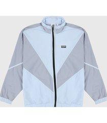 chaqueta gris adidas originals r.y.v v-line woven