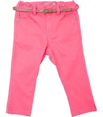 pantalon de beba con cinturon trenzado sandia  pillin