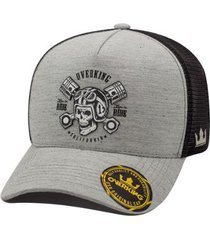 boné overking aba curva trucker motorcycle california