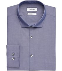 calvin klein amethyst extreme slim fit dress shirt