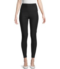 rd style women's control-top active leggings - black - size s