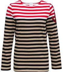 patou breton striped organic cotton sweater