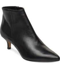 bobby shoes boots ankle boots ankle boots with heel svart jennie-ellen