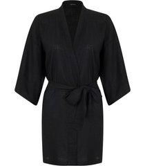 kimono by the sea curto preto