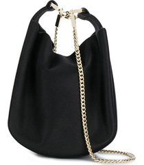 galvan bracelet soft pouch bag - black