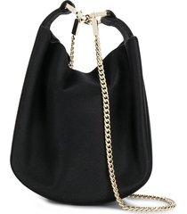 galvan bracelet soft pouch bag - black