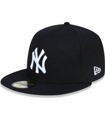 boné new era 5950 new york yankees aba reta preto