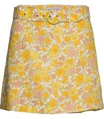 celia skirt kort kjol gul faithfull the brand