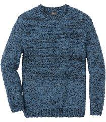 pullover melange regular fit (blu) - bpc bonprix collection