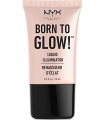 nyx professional makeup born to glow liquid illuminator, 0.6-oz.