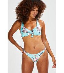 hunkemöller bea brazilian-bikiniunderdel blå
