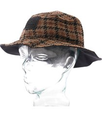 boss casual fax bucket hat - rust 50418273-220