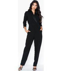 closet tuxedo collar jumpsuit jumpsuits