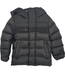 padded jacket with chest hook