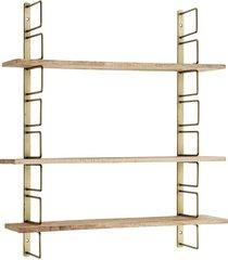 regał, półki regulowane metal drewno