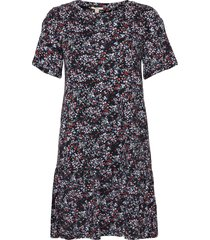 dresses knitted kort klänning blå edc by esprit