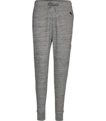 icon jogger sweatpants mjukisbyxor grå abercrombie & fitch