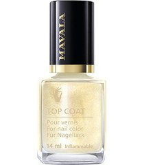 base mavala star top coat gold 14ml