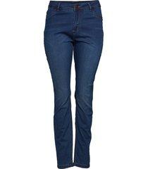 jeans long, nille ex. slim skinny jeans blå zizzi
