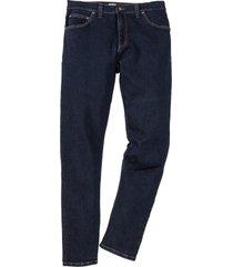 jeans elasticizzati comfort slim fit straight (blu) - john baner jeanswear