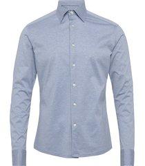 jersey shirt overhemd business blauw eton