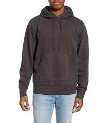 men's madewell hooded sweatshirt, size small - purple