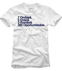 camiseta 365 oportunidades reserva masculina