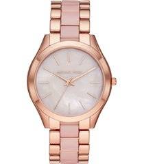 michael michael kors slim runway watch, 42mm