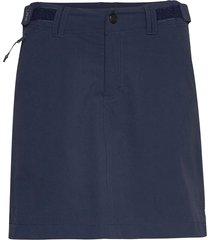 lora kort kjol blå tenson