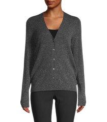 v-neck cashmere cardigan sweater