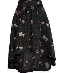 tania knälång kjol svart custommade