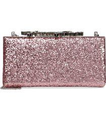jimmy choo celeste/s glitter box clutch