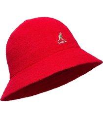 kg bermuda casual accessories headwear rood kangol