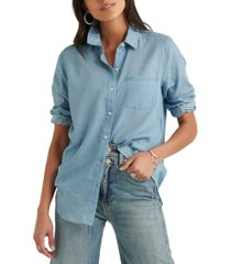 lucky brand point-collar shirt