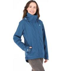 chaqueta pumalín impermeable azul andesgear