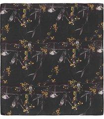 pañuelo de bolsillo con un diseño de aves para hombre 04141
