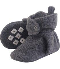 little treasure cozy fleece booties with non skid bottom