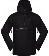 bergans jas men stranda ins hybrid anorak black solid charcoal-l