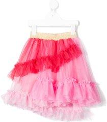raspberry plum astrid tulle skirt - pink