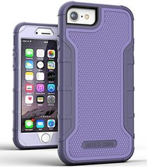iphone 6 tough case w/ built in screen protector, american armor(heavy duty)rugg