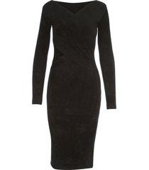 blumarine knitted l/s midi dress