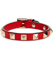 women's valentino garavani rockstud leather bracelet