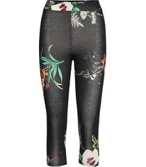 legging botanic leggings svart desigual